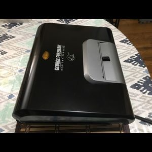 GEORGE FOREMAN VARIABLE TEMPERATURE GRILL GLP80V